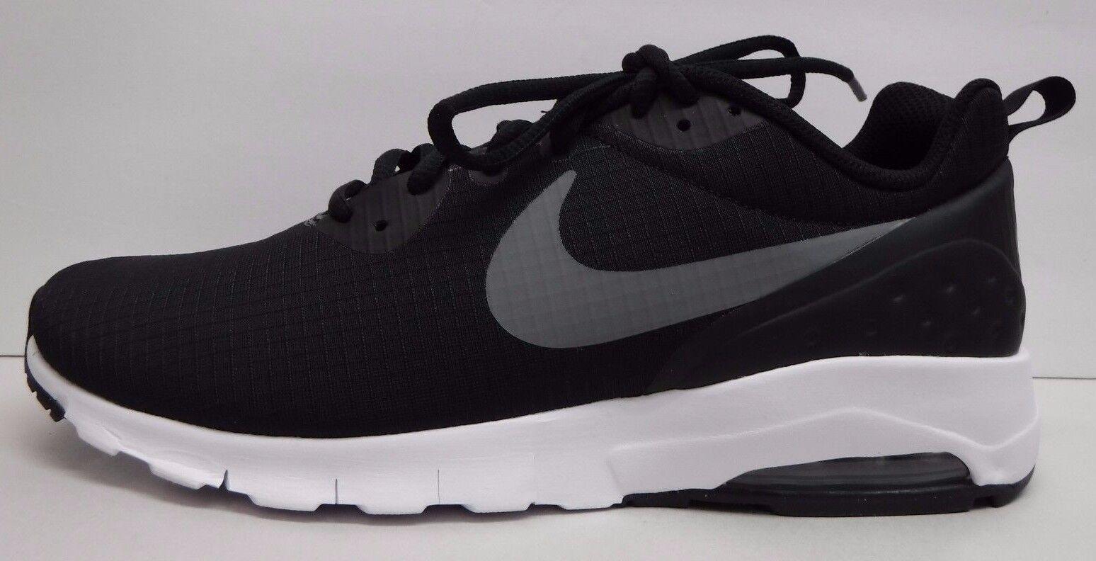 Nike air numero 10 nero le scarpe da ginnastica nuove Uomo scarpe