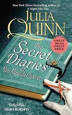 The Secret Diaries of Miss Miranda Cheever by Julia Quinn (2012, Paperback)