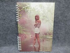 """Taylor Swift Official Spiral Notebook Standing In Water 8 1/4 X 5 3/4"""" Memo Size"""