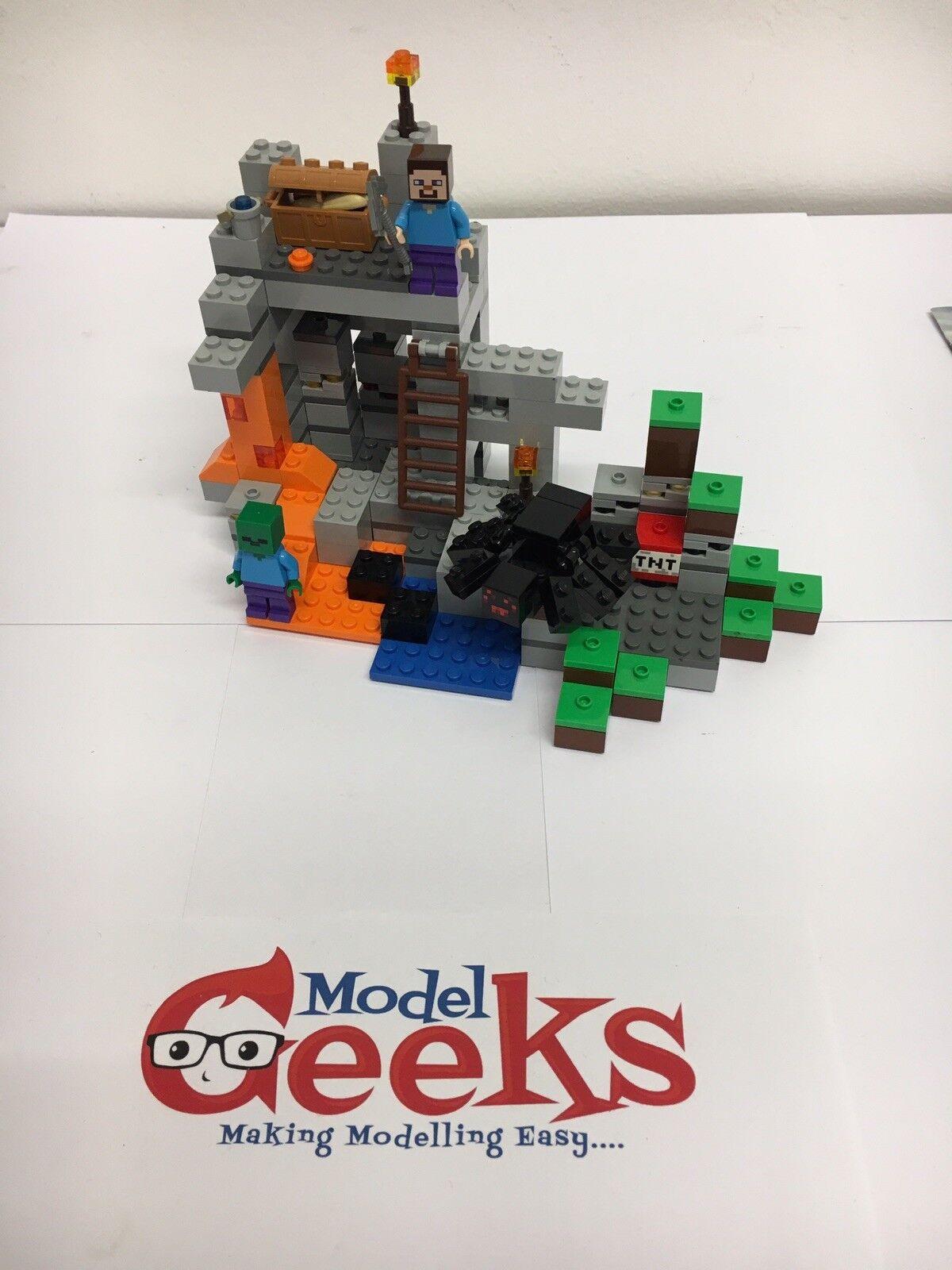 Lego Lego Lego Minecraft Minifig Scale 21113 The Cave 99ac93
