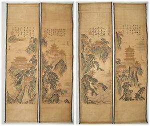 Chinese painting scroll Figure painting By Zhang Daqian 张大千