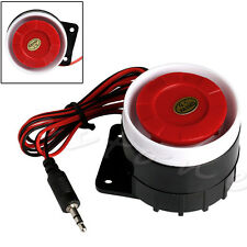 Wired Mini Horn Siren Home Security Sound Alarm System 120dB DC 12V New