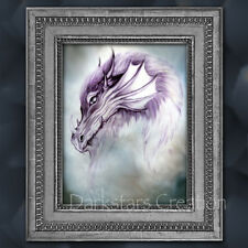 Magical Mystic Dragon - Medieval Fantasy Art Print - Darkstars Creation