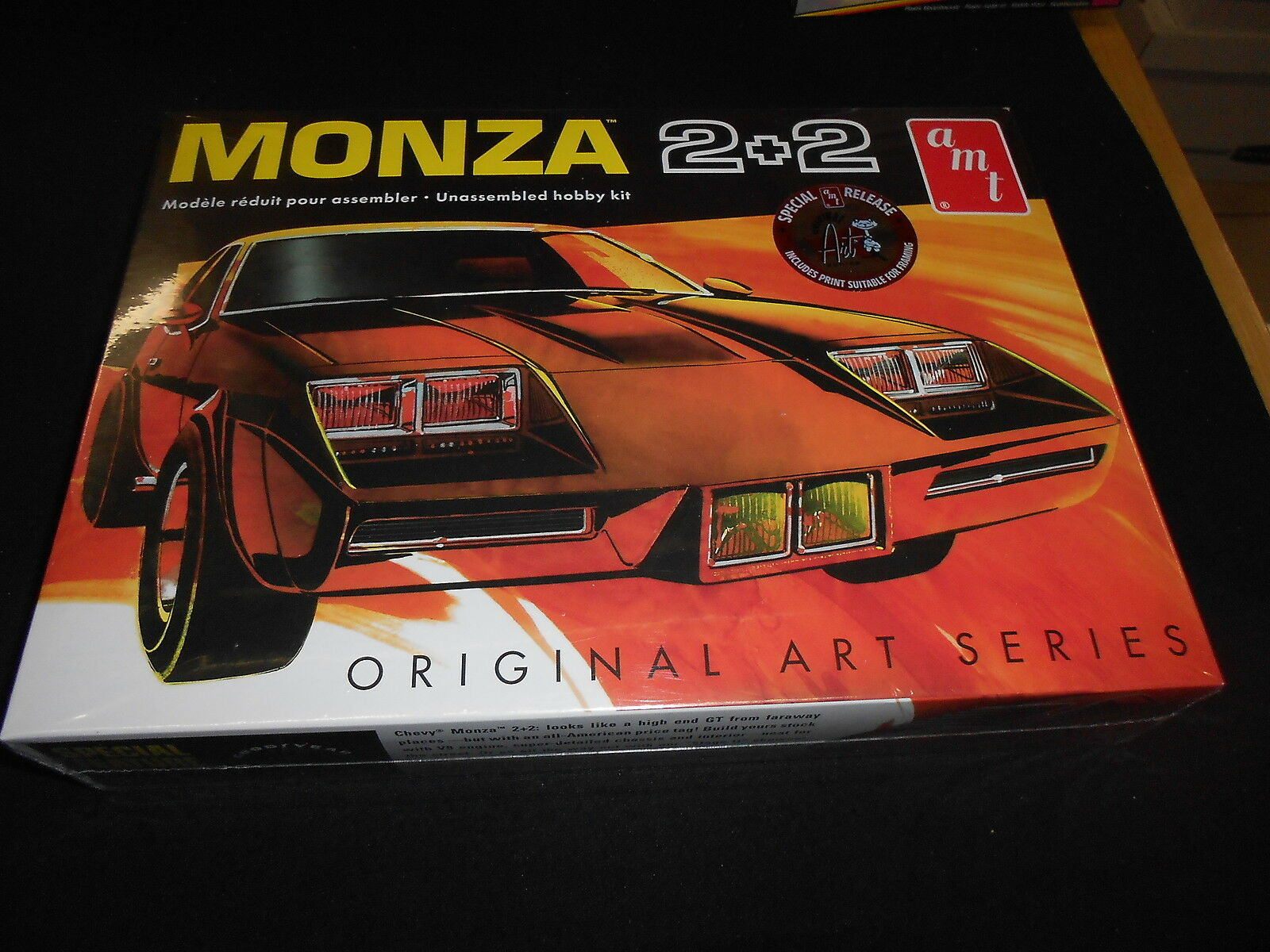 AMT 1019, 1 25 MONZA 2+2 PLASTIC MODEL KIT
