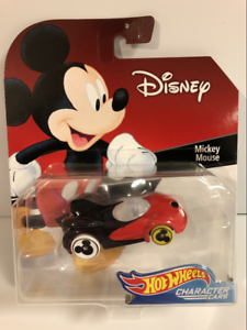 Hot-Wheels-Personnage-Voitures-Disney-Mickey-Mouse-GDW04-Neuf