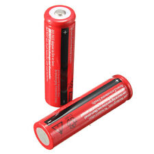 2PCS 18650 Rechargeable Battery 3800mAh 3.7V Li-ion For AAA Flashlight Torches
