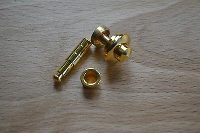 15mm PROKRAFT PKR EBB BRASS BUTTON CATCH FOR BOX