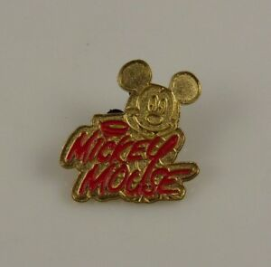 Disneyland-pin-Disney-Mickey-Mouse-head-gold-and-red