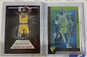 Lebron-James-Card-Lot-2-Black-Box-149-Red-rare-And-Flux-Chronicles
