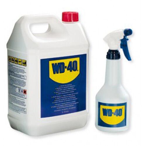 Dégrippant WD40 5L+pulvérisateur nettoyant anti-humidité et corrosion WD-40 NEUF