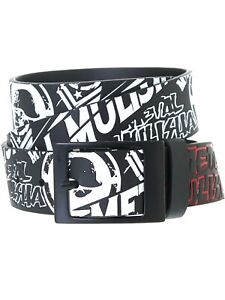 "Black Metal Mulisha Men/'s Belt /""Hog Belt/"""