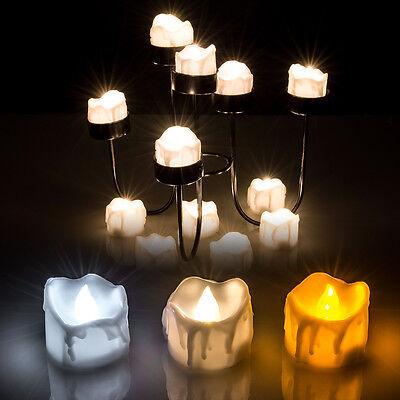 6 60pcs Electronic Flameless Led Tea Light Candles