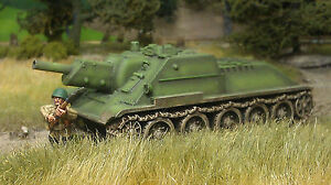 1st-Corps-28mm-1-48-WWII-Russian-SU122-Historical-Miniatures-Unpainted