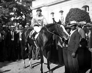 Champion-Racehorse-TOP-FLIGHT-Glossy-8x10-Photo-Print-Raymond-Workman-Poster