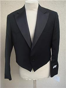 50R New  Herren Tuxedo Short Coat Western Cut Pagano West