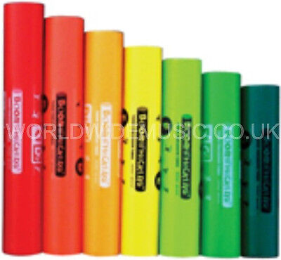 BOOMWHACKERS Boomophone C Major Pentatonic Set of 6 Tubes C E A C G D