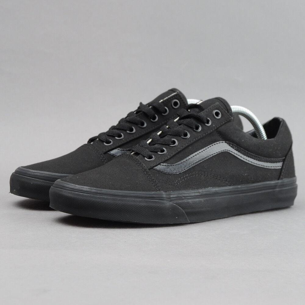 Vans Old Skool black / black EU 37, Männer, Schwarz, vd3hbka