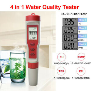 4-in-1-Portable-Professional-LCD-Water-Tester-TDS-EC-PH-TEMP-Monitor-Pen-Meter