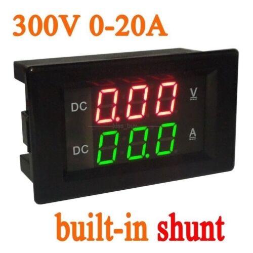 Mess- & Prftechnik DC 300V 20A DC Digital LED Voltmeter ...