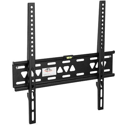 Support mural tv muraux pour écrans plats fixe ultra plat 27-55 69-139 cm - 90kg
