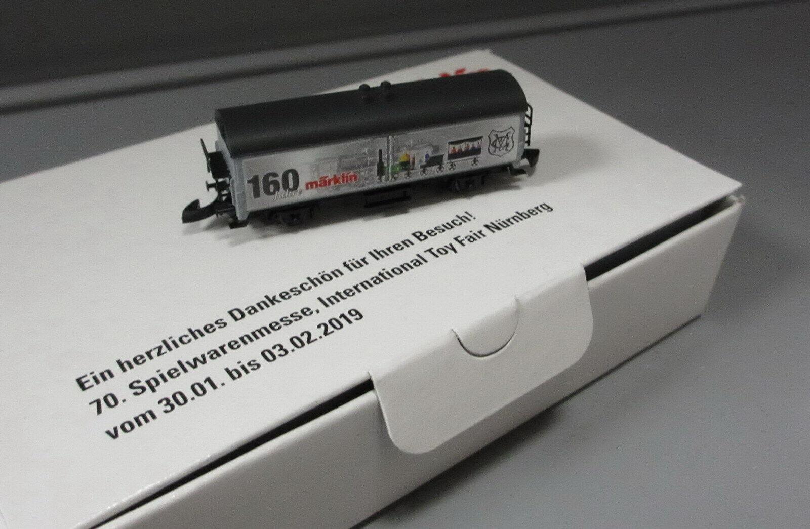 Märklin Z 80129 Messemodell Spielwarenmesse Nürnberg 2019 _ 160 Jahre Märklin  | Roman