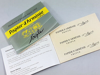 Armenia Paper Papier D Armenie Esoteric Incense Paper Ebay