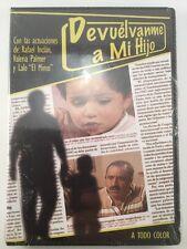 DEVUELVEME A MI HIJO Pelicula DVD con Rafael Inclan, Valeria Palmer Lalo El Mimo