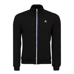 Felpa-Le-Coq-Sportif-1820036-Essentiels-Sweat-N1-Black-Zip-Tuta-Sport-Moda