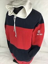Polo Ralph Lauren Hoodie P-Wing Stadium CP RL-92 Sweatshirt Snow Beach Vintage S