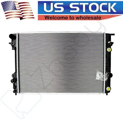 For 2000-2001 Cadillac Catera V6 3.0L Brand New Aluminum Radiator Fits 2595
