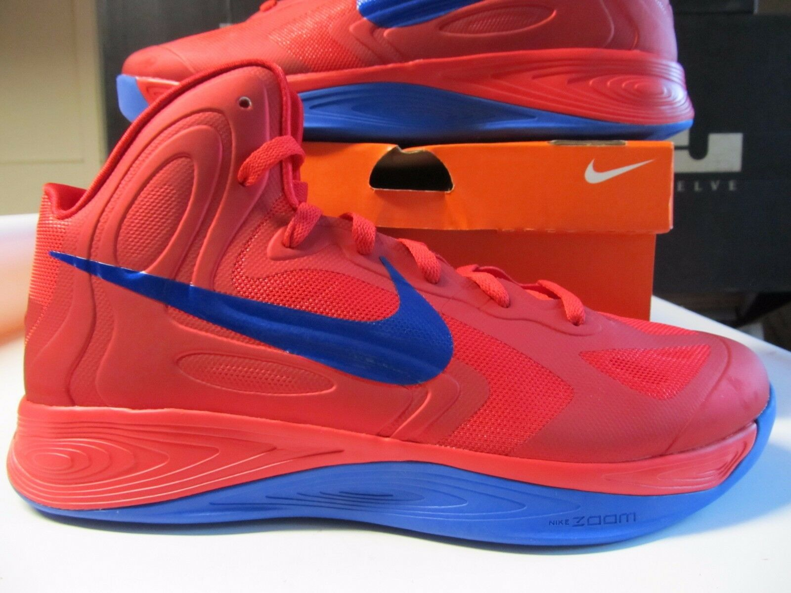 Nike Hyperfuse Universty Red Game Royal Blue 525022 061 Basketball volt olympics