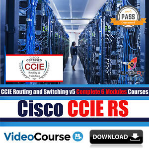 Details about Cisco CCIE RS v5 Exams Complete 6 Modules Video Training  Courses DOWNLOAD