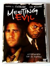 Dvd Meeting Evil con Samuel L. Jackson e Luke Wilson 2012 Usato
