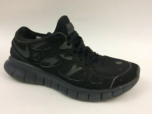 Nike Free Run 2 443816-002 Womens 6.5 M Black Shoes Light Weight ...