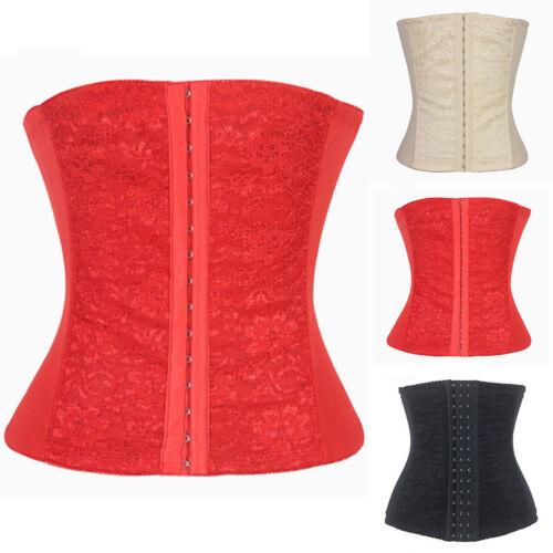 Womens Waist Trainer Body Shaper Tummy Wrap Girdle Belt Belly Fat Burner Corset
