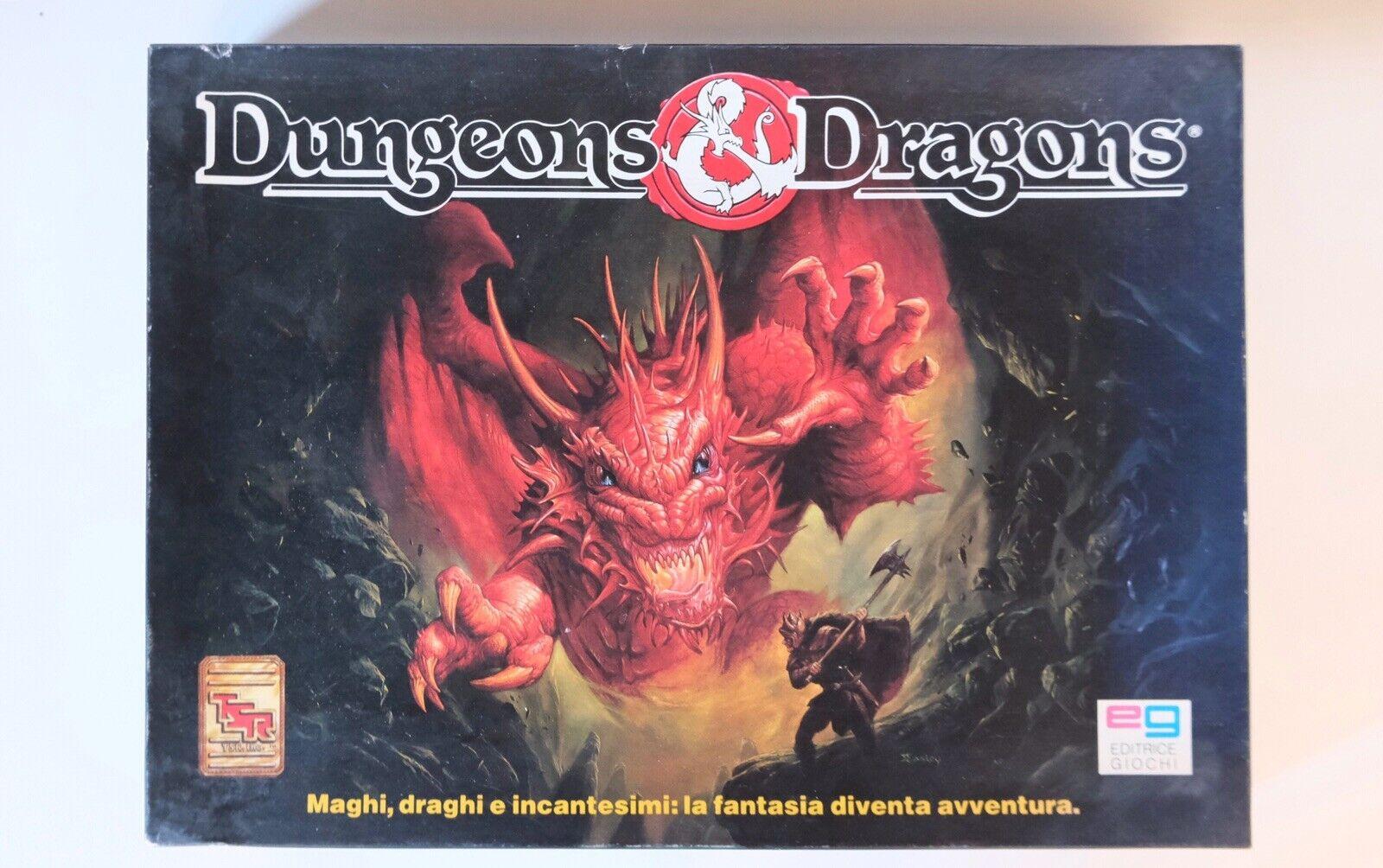 Dungeons &  Dragons - D&D - Gioco da tavolo EG - Vintage - NON COMPLETO  il più alla moda
