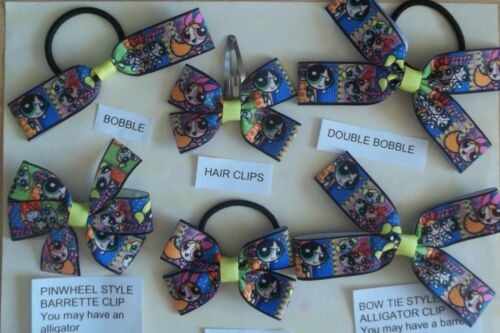 BB THESE ARE NOT GENUINE LICENSED ITEMS HANDMADE  HAIR BOWS CHILDREN/'S TV