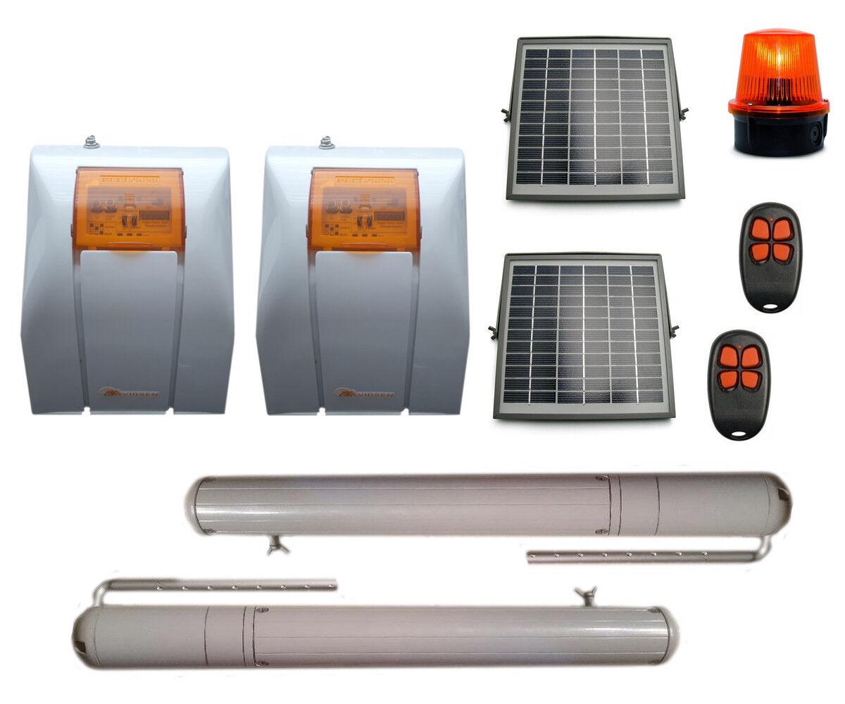 Flügeltorantrieb Set Torantrieb Drehtorantrieb für Solarbetriebende Tore SEL 80