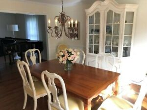 Mint Ethan Allen Maison Juliette Celine Dining Room Table Chairs Country French Ebay