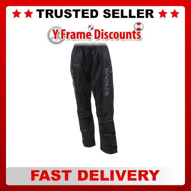 Proviz Impermeabile Pantaloni Pantaloni Pantaloni 14 Nero | Nuovo 2019  | Qualità E Quantità Garantita  d0e0a6