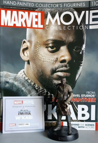 MARVEL MOVIE COLLECTION #110 W'Kabi Figurine Black Panther en