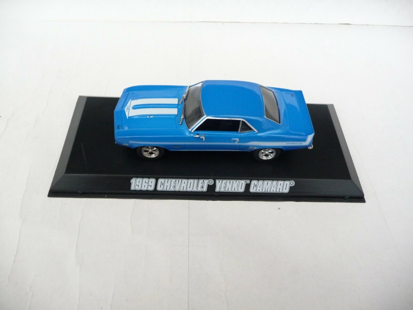 Luz verde 1 43 Chevrolet Camaro Yenko 1969 blu 2 Fast 2 Furious GL86206