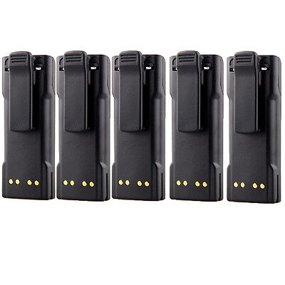Interphone Battery For Motorola NTN7143 HT1000 JT1000 GP900 MTS2000 2100mAh 7.4V