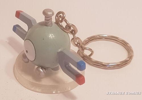 "POKEMON MAGNEMITE PORTACHIAVI ORIGINAL TAKARA TOMY PVC 2/"" Magnetilo, Magneti"