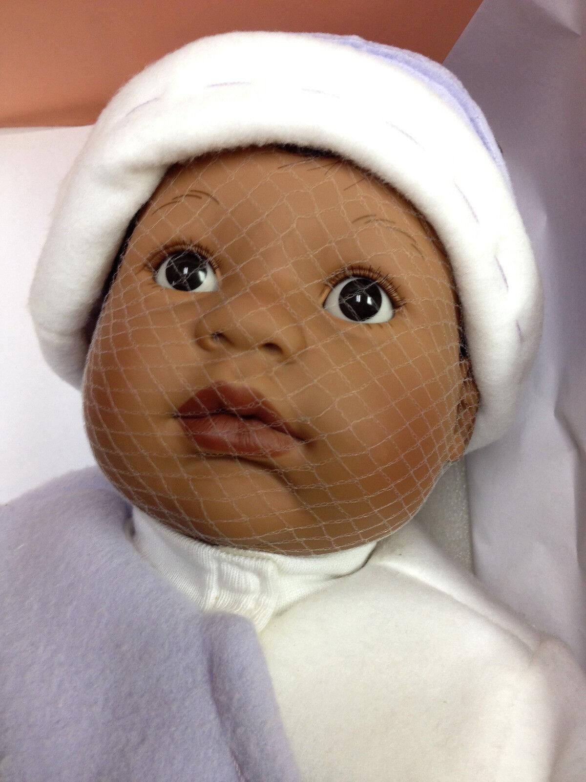 Berenguer Bebé Muñeca 20  Pequeño Cordero afroamericano edad 2+ nunca quitado de la caja de venta
