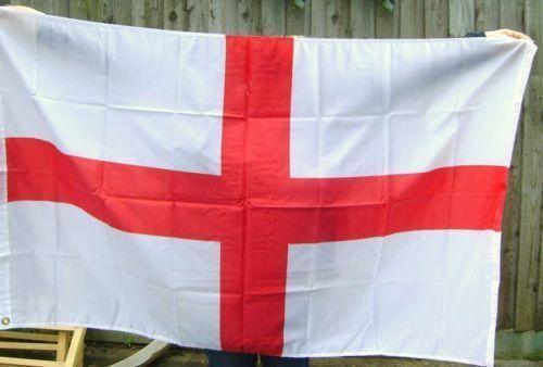 ENGLAND ENGLISH ST GEORGE CROSS FLAG 150x90cm NEW 5 x 3 FOOT