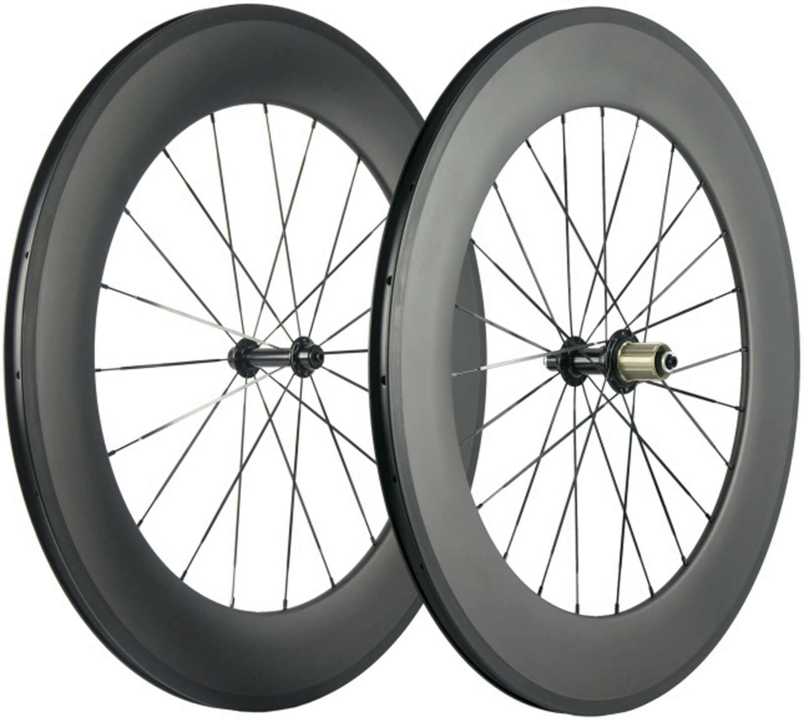 Front 60mm+Rear 88mm Clincher Wheels Road Bike  23mm Bicycle Wheelset 700C Bike  best quality best price