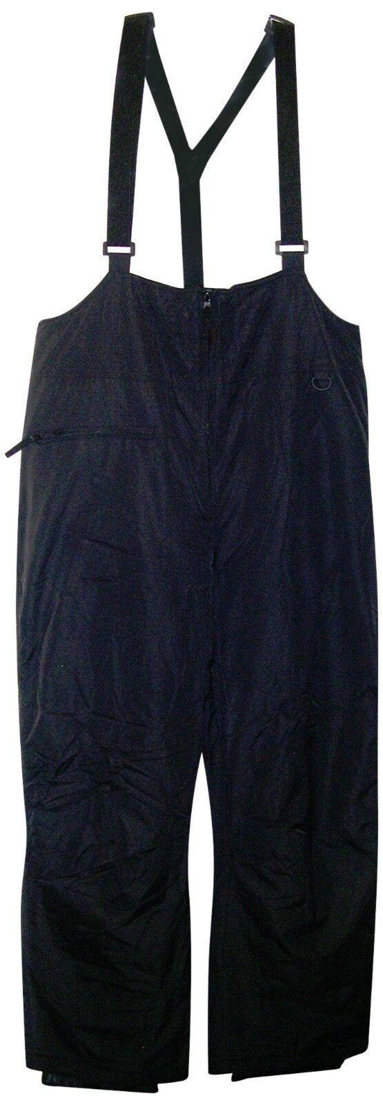 New  Pulse Mens Big Sizes Ski Bibs 2X 3X 4X 5X 6X 7X  Insulated Snow Pants Blk  save 60% discount