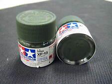 "Tamiya ""Mini"" Acrylic model paint - XF-13 JA Japanese Army Green (flat) 81713"