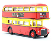 1:76 SCALE EFE 15603 BLACK PRINCE ROUTE MASTER BUS 3D